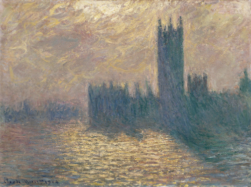 Monet Le Parlement de Londres