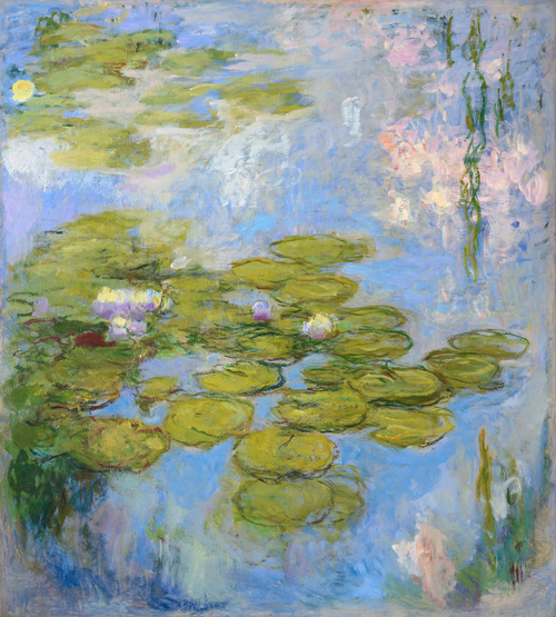 Monet Nympheas LAC