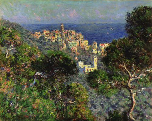 Monet View of Bordighiera