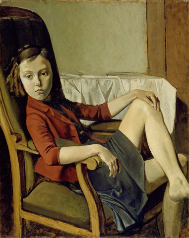 Balthus New York MET The uere Cse GROSS LAC 378x300mm