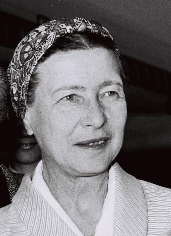 Simone de Beauvoir 1967 wiki